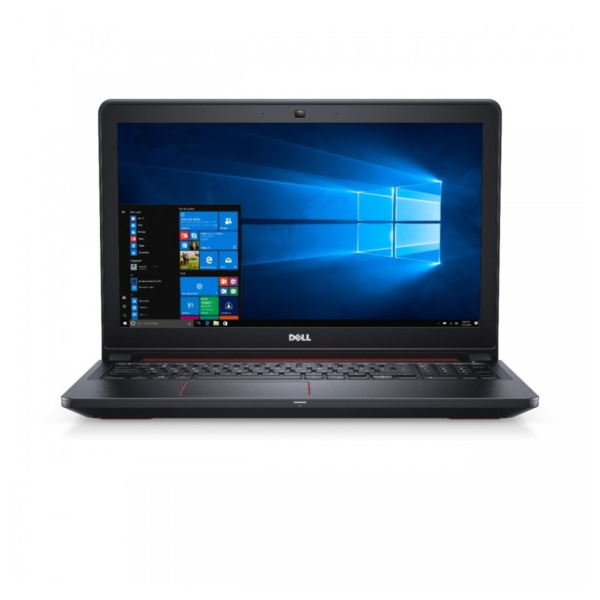 Dell Inspiron 15 5577 Gaming Laptop - Core i7 2.8GHz 16GB 1TB+128GB 4GB Win10 15.6inch FHD Black