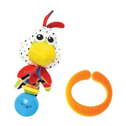 Yookidoo 40133 Rooster Shake Me Rattle Toy