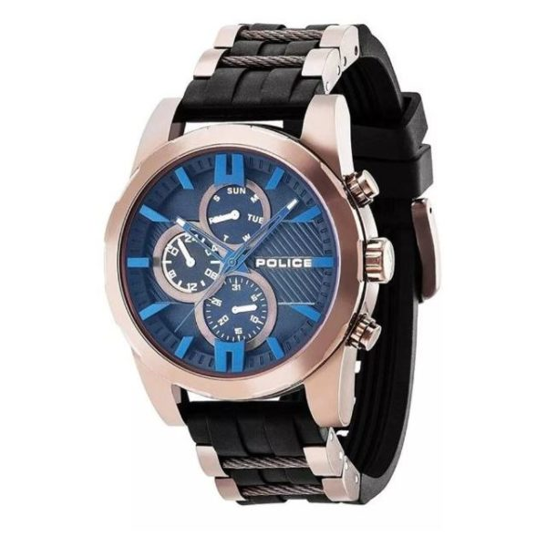 Police P 14541JSBN-02P Matchcord Mens Watch