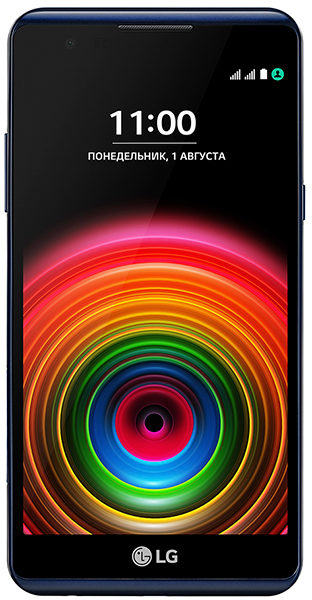 LG X Power 4G Dual Sim Smartphone 16GB Black + Cover