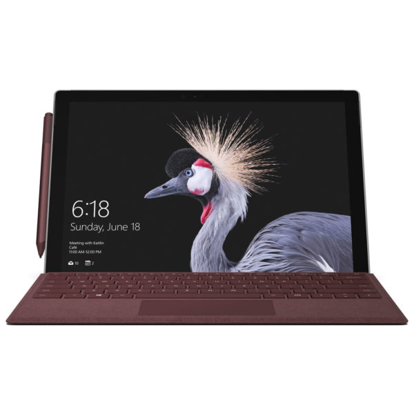 Microsoft Surface Pro Signature Type Cover Keyboard Burgundy FFP00054