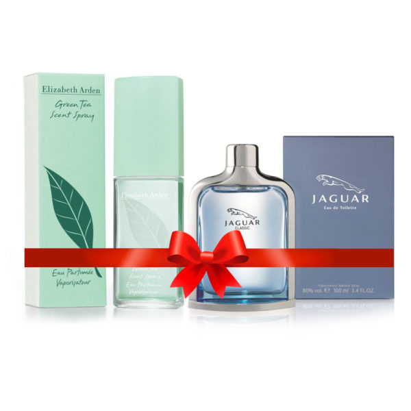 Jaguar Green Perfume Price: Elizabeth Arden Green Tea Perfume For Women 100ml Eau De Toilette + Jaguar Blue Perfume For Men