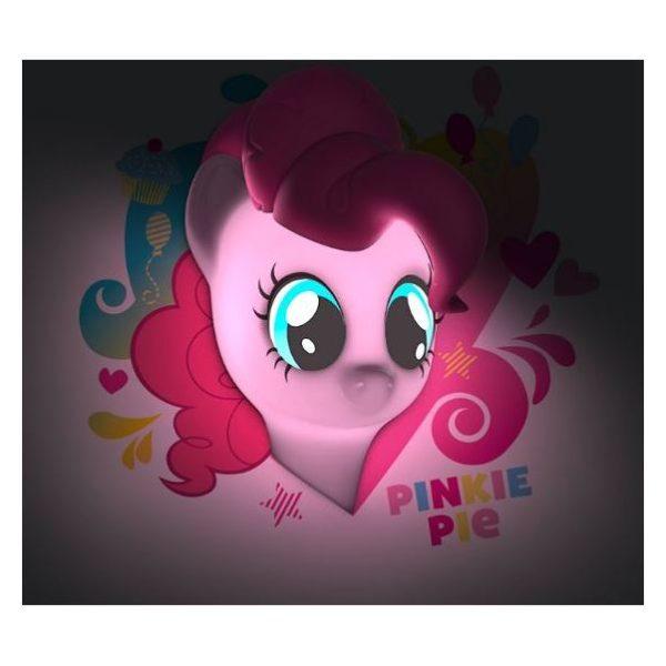 3DLightFX Pinkie Pie 3D MLP Decor Wall Light 40011