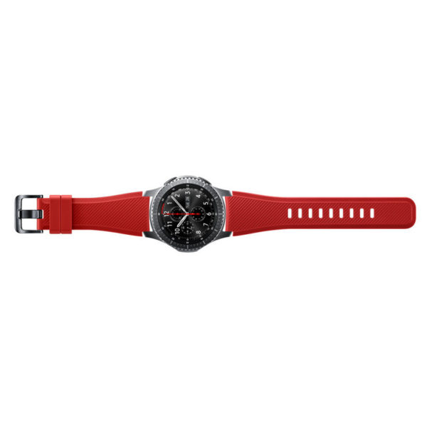 Samsung Frontier Solis Strap Band Red For Gear S3 - ET-YSU76MREGAE