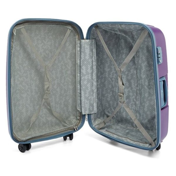 Senator PPB30PPL PP Spinner Trolley Luggage Bag Purple 30inch