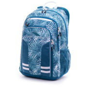 High Sierra H04AS073 Blaise Backpack Palms/Lagoon/White