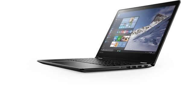 Lenovo Yoga 510 Convertible Touch Laptop - Core i5 2.5GHz 4GB 1TB Shared Win10 14inch FHD Black