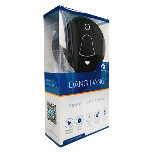Grains 3H66 Video Door Bell Black