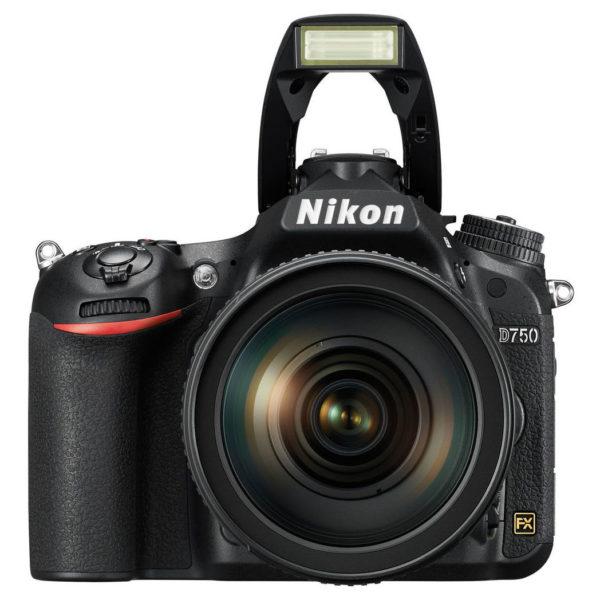 Nikon D750 DSLR Camera Black With 24-120mm VR Lens