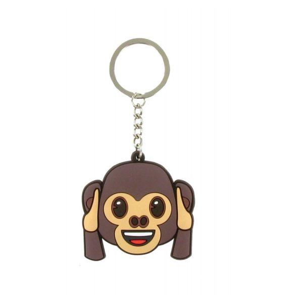 Comansi Emoji Ears Monkey Keychain E10016