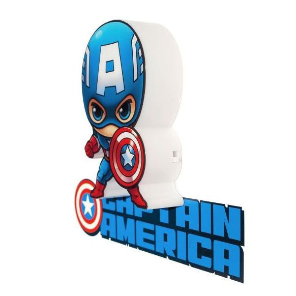 3DLightFX Marvel Captain America 3D Decor Wall Light 2001712