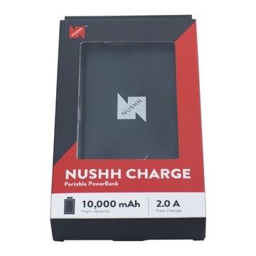Nushh Power Bank 10000mAh Black