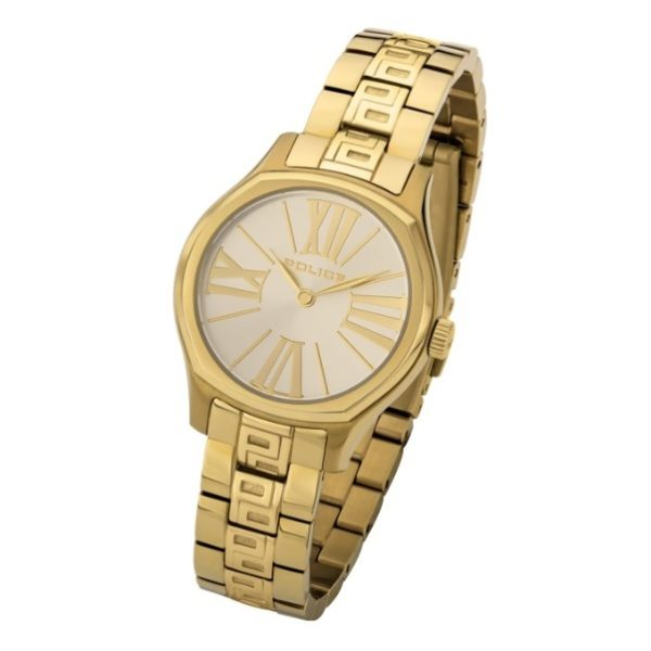 Police P 14991LSG-D06M Bennet Ladies Watch