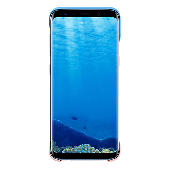 Samsung 2 Piece Case Blue For Galaxy S8+
