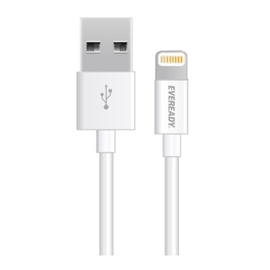 Eveready Lightning Cable 1m White CV11UBLIFWH4