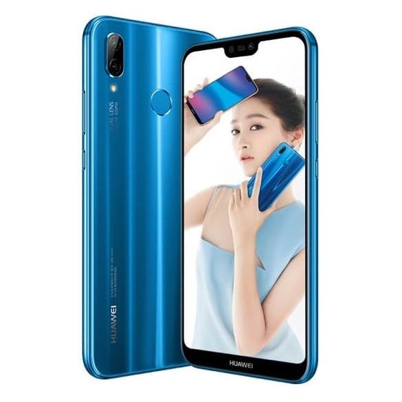 Buy Huawei Nova 3e 64GB Klein Blue 4G Dual Sim Smartphone – Price