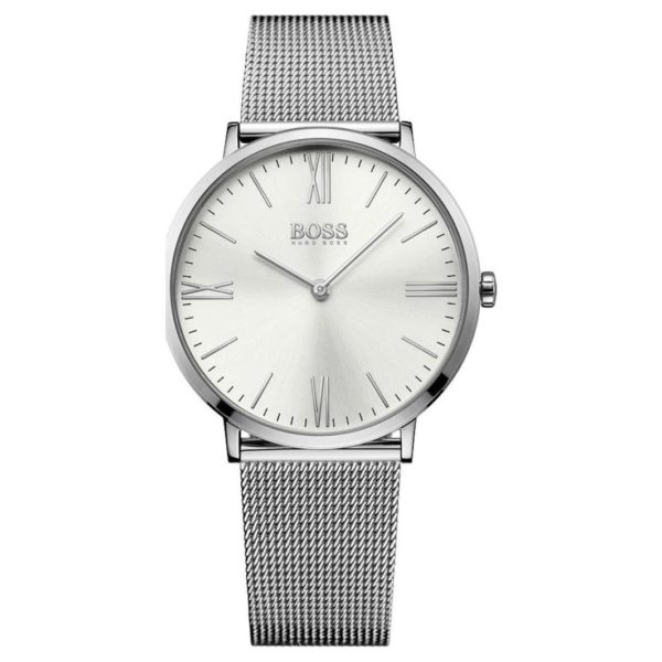 Hugo Boss Jackson Watch For Men with Silver Mesh Bracelet