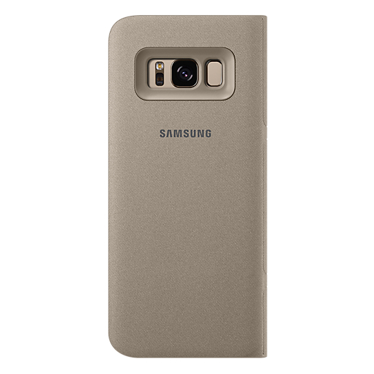 Samsung Flip Cover Gold For Galaxy S8