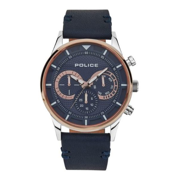 Police P 14383JSTR-03 Driver Mens Watch