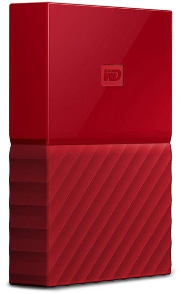 Western Digital WDBYFT0020BRD My Passport Hard Drive 2TB Red