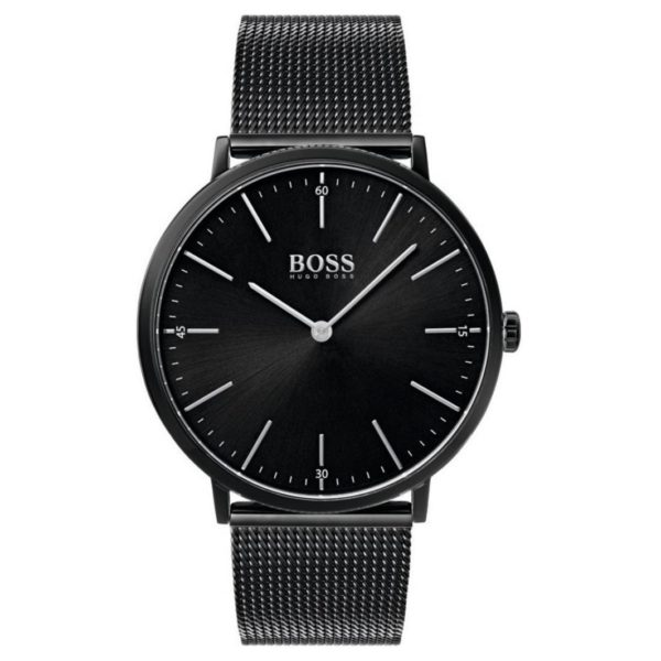 Hugo Boss Horizon Watch For Men with Black Mesh Bracelet