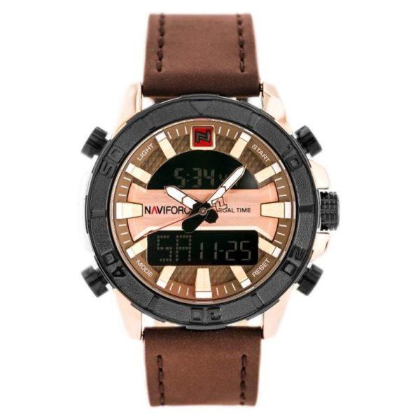 Naviforce Mens Watch Brown NF9114