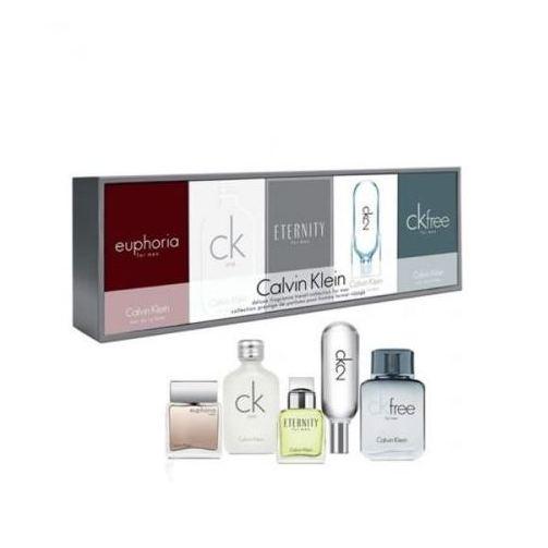 Buy Calvin Klein Deluxe Frangrance 5in1 Mini Gift Set For Men (CK1