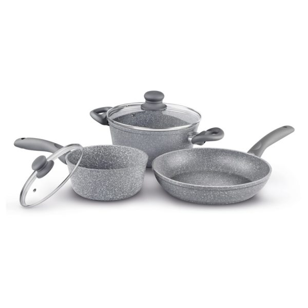 Lamart Stone Cooking Set 5Pcs Grey LT1095