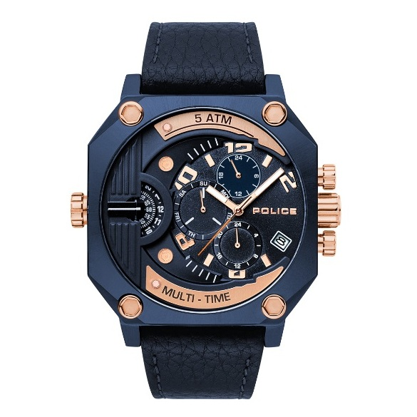 Police P 15385JSBL-03 Furnace Mens Watch
