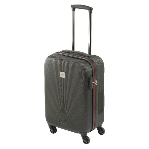 Princess Travellers NICEPOCKET Luggage Trolley Bag Black / Burgundy Small Size