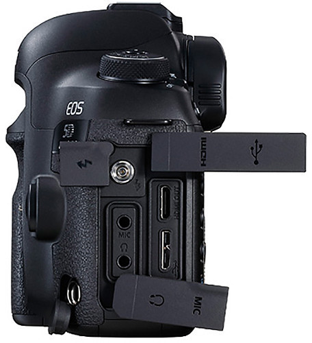 Canon EOS 5D Mark IV DSLR Camera Black With 24-70mm F/4L IS USM Lens