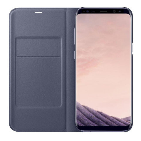 Samsung Flip Cover Violet For Galaxy S8
