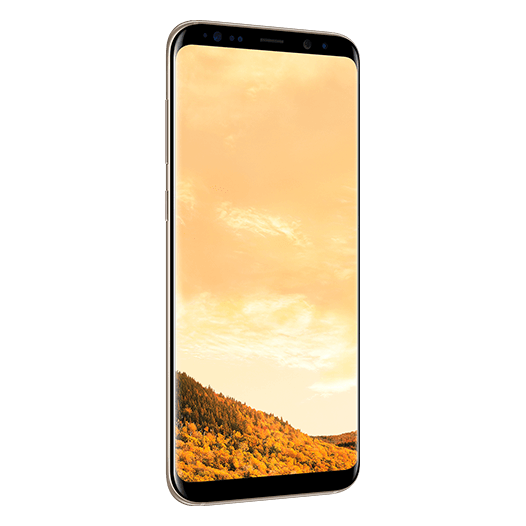 Samsung Galaxy S8+ 4G Dual Sim Smartphone 64GB Maple Gold ( *T&C Apply )