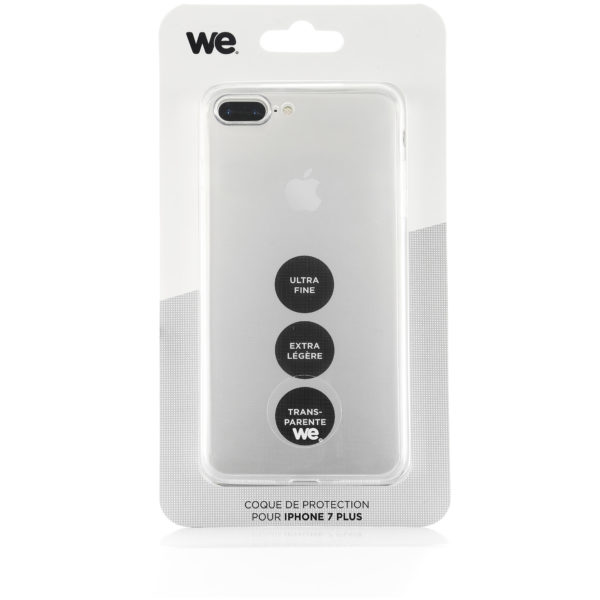 WE Transparent Protective Case For Apple iPhone 7 Plus