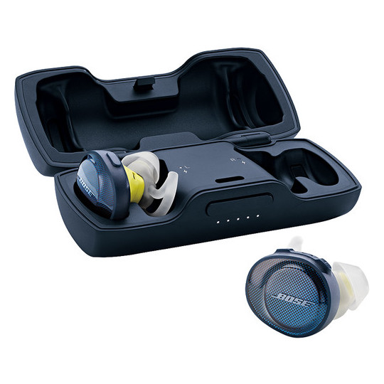 Bose Soundsport Free Wireless Earbuds - Navy/Citron