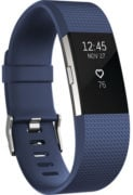 Fitbit Charge 2 Wristband Laryon Blue Silver Large - FB407SBULEU
