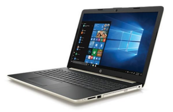 HP 15-DA0001NE Laptop - Core i3 2.2GHz 4GB 1TB Shared Win10 15.6inch HD Pale Gold