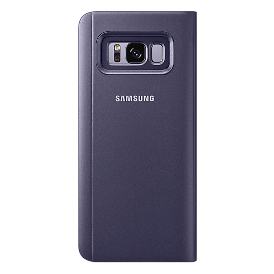 Samsung Clear View Standing Cover Violet For Galaxy S8