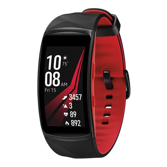 Samsung Gear Fit2 Pro Fitness Band Small Red -  SM-R365