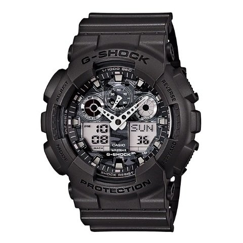 Casio GA100CF8ADR G Shock Watch