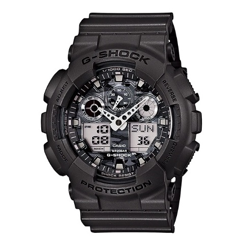 Casio GA100CF8ADR G Shock Watch