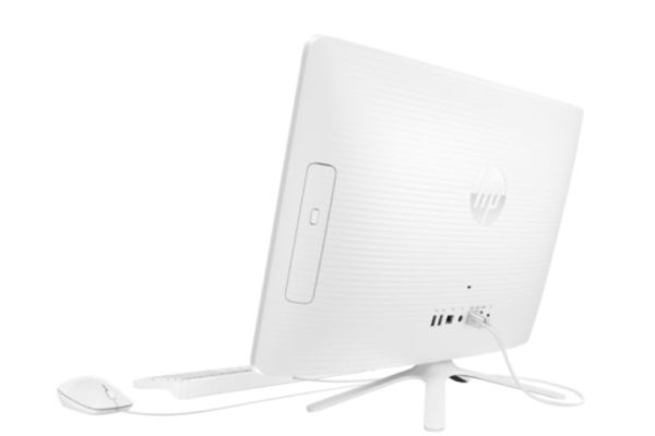 HP 22-C0001NE All-in-One Desktop - Core i3 2.2GHz 4GB 1TB Shared Win10 21.5inch FHD Snow White