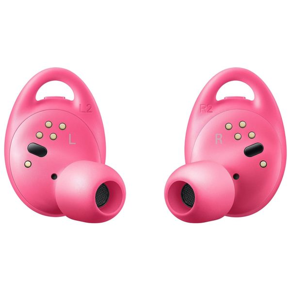 Samsung Gear IconX 2018 Universal Cord Free Fitness Tracker Earbud Pink - SM-R140