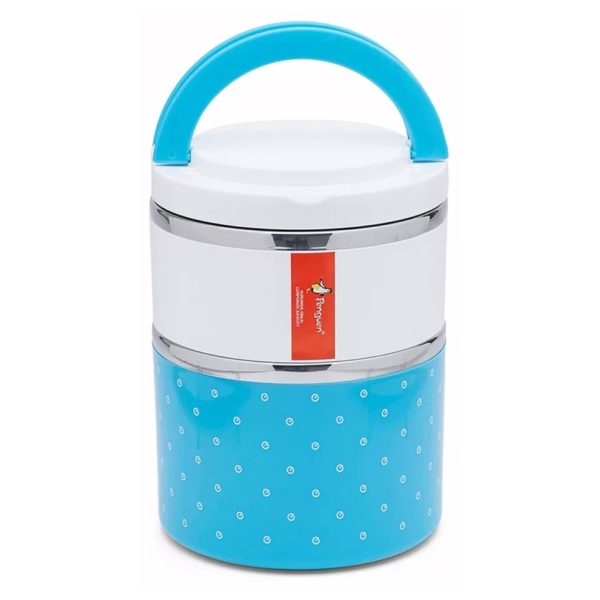 Penguen Stainless Steel Lunch Box 1.5 Litres PNG0003BLUE