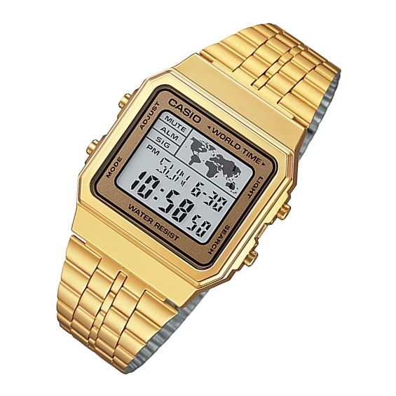 Casio A500WGA-9 Vintage Unisex Watch