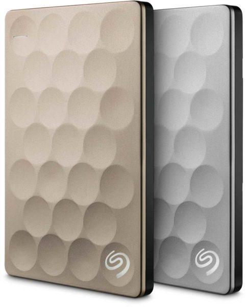 Seagate STEH1000201 Backup Plus Portable Ultra Slim 1TB Gold