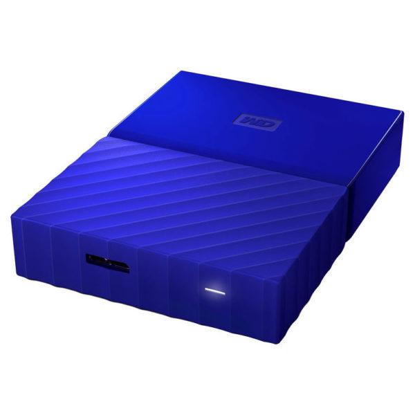 Western Digital My Passport Hard Drive 2TB Blue WDBS4B0020BBL-WESN