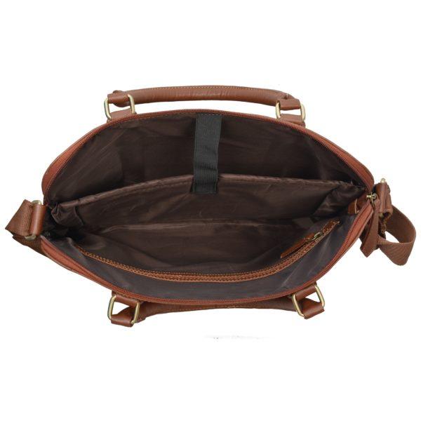 Eklasse EKLPC13IP PU Leather Laptop Case 14inch Brown