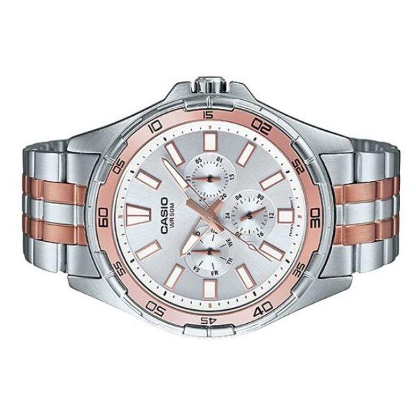 Casio MTD-300RG-7AV Enticer Men's Watch