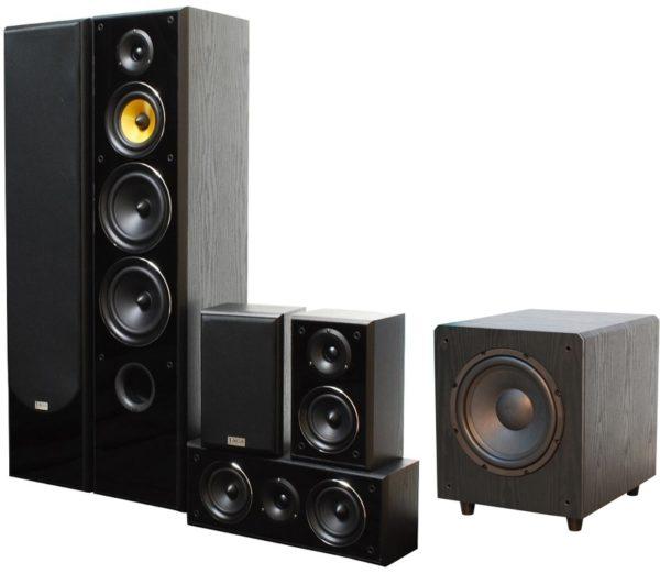 Taga TAV406V2 + TSW90V3 Home Theatre System Black